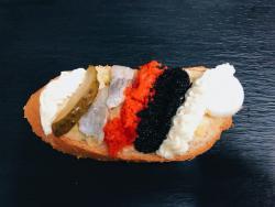 Abbildung von Fisch Mix Sandwich
