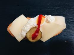Abbildung von Käse Sandwich