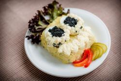 Abbildung von Kaviar Ei