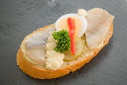 Abbildung von Matjes Sandwich