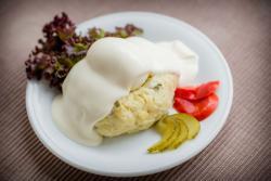 Abbildung von Mayonnaise Ei