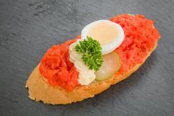 Abbildung von Seelachs Sandwich